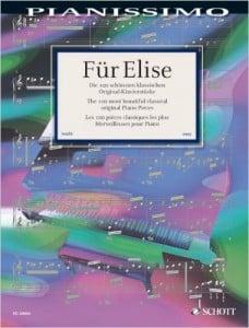 Für Elise und Co. – Sammelbände für Klavier mit klassischen Evergreens