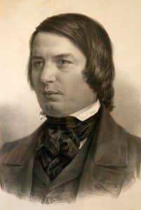 Robert Schumann Zeichnung von Adolph von Menzel