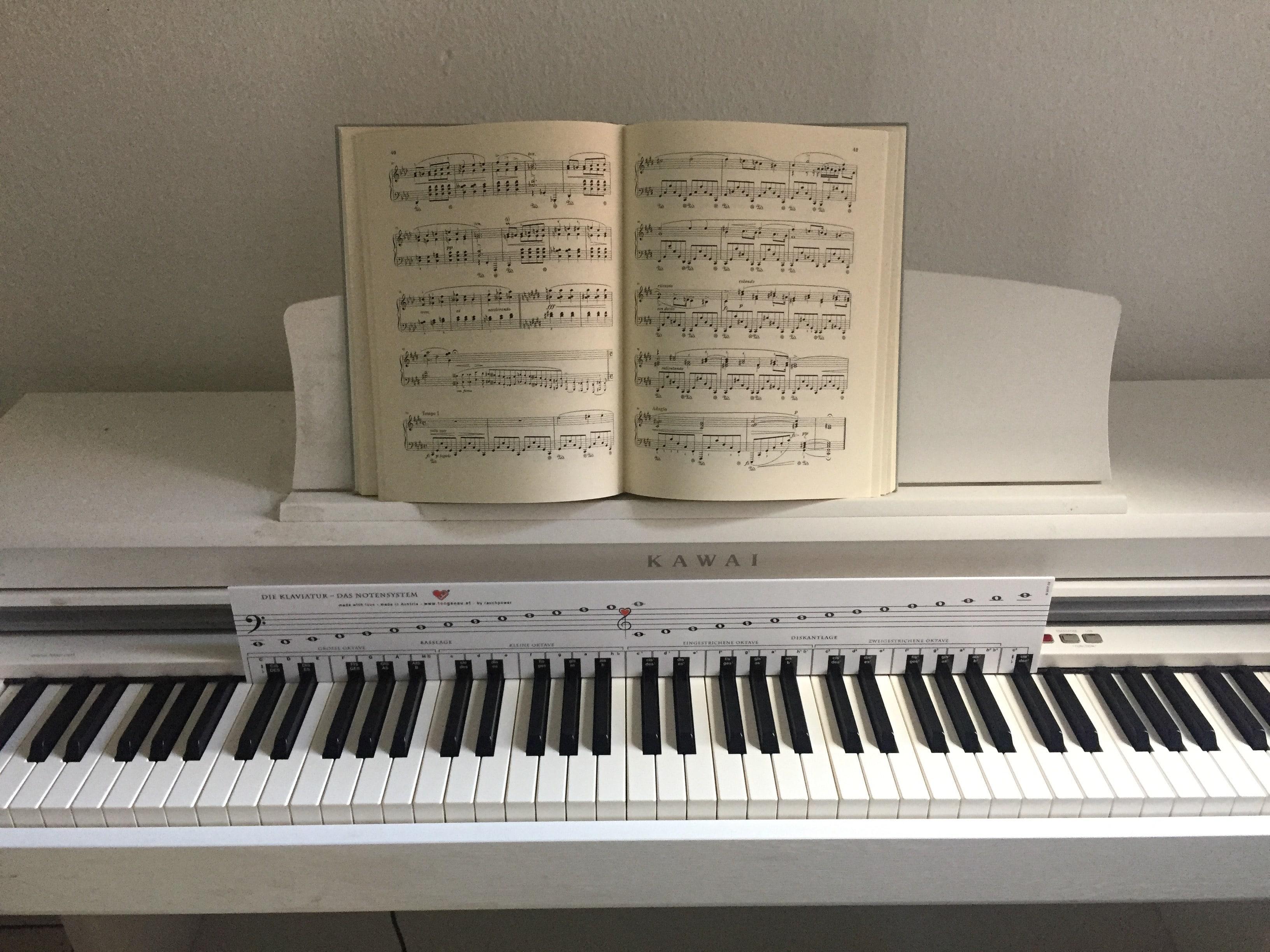 musiknoten lesen üben