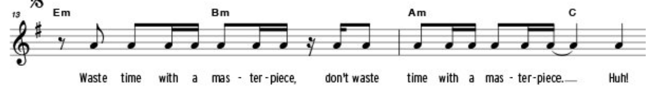 Melodie Sheet