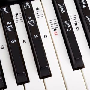 Klavier-Aufkleber im Test - nützlich oder störend?