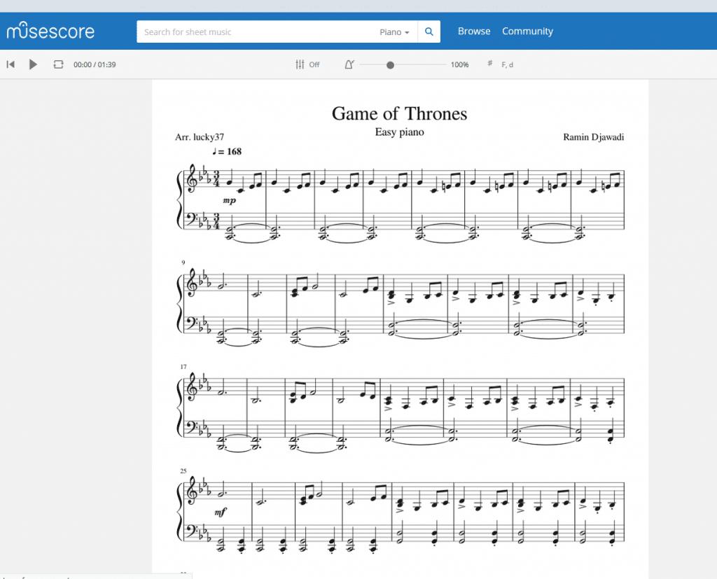 Die 8 besten Seiten für legale und kostenlose Klaviernoten [2020]