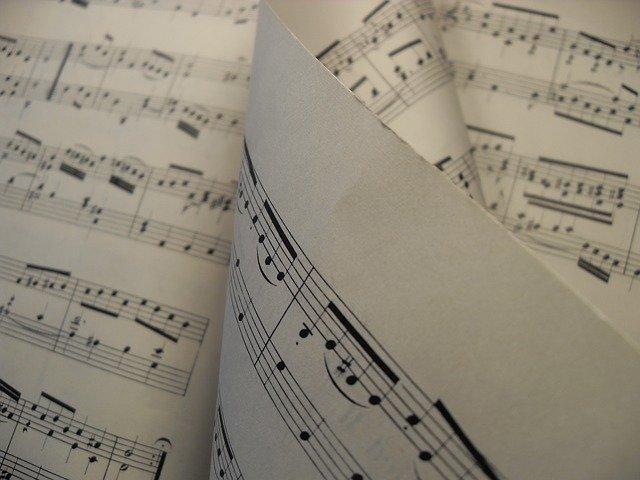Klavier Noten Chaos
