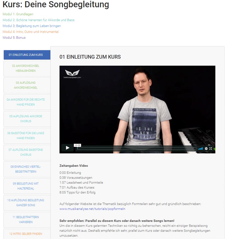 """""""Der Pianoclub"""": Klavier Online-Kurs von Daniel Hunziker im Test"""