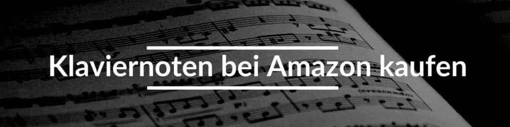 Klaviernoten bei Amazon kaufen